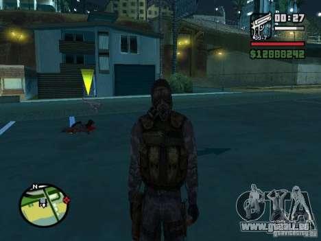 Stalker Söldner in der neuen kombeze für GTA San Andreas