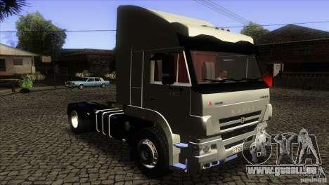KAMAZ 5460 Euro 3420 Turbo pour GTA San Andreas vue arrière