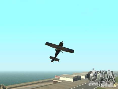 Un nouvel avion-Dodo pour GTA San Andreas vue de côté