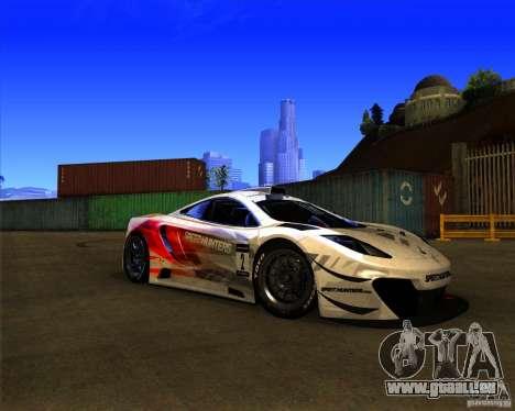 McLaren MP4 - SpeedHunters Edition für GTA San Andreas linke Ansicht