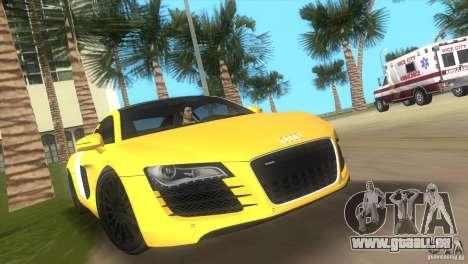 Audi R8 V10 TT Black Revel für GTA Vice City