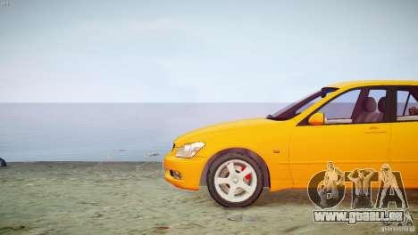 Toyota Altezza Gita Version 2 pour GTA 4 Vue arrière