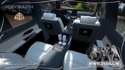 Maybach 57S für GTA 4 rechte Ansicht