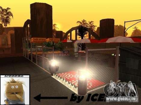 Nev Groove Street 1.0 für GTA San Andreas fünften Screenshot