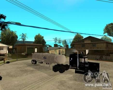 Rubber Duck Mack pour GTA San Andreas vue de droite
