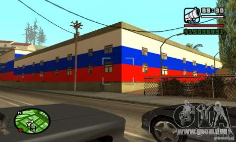 Hôtel russe pour GTA San Andreas deuxième écran