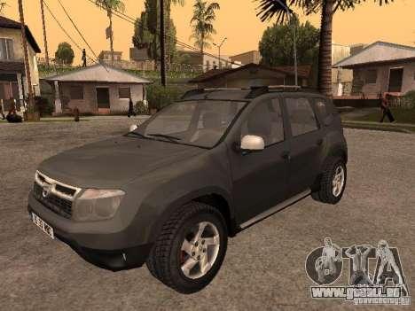 Dacia Duster pour GTA San Andreas sur la vue arrière gauche