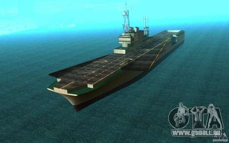 New Aircraft carrier pour GTA San Andreas
