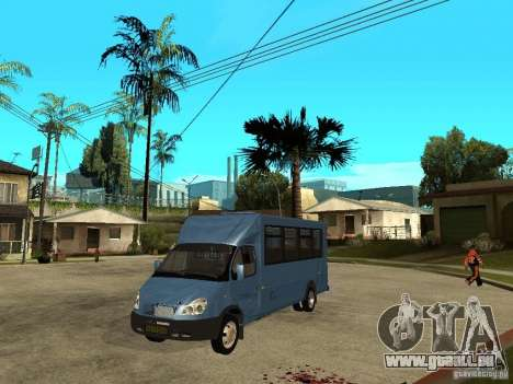 Gazelle Ruta für GTA San Andreas