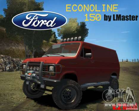 Ford Econoline 150 pour GTA 4 Vue arrière