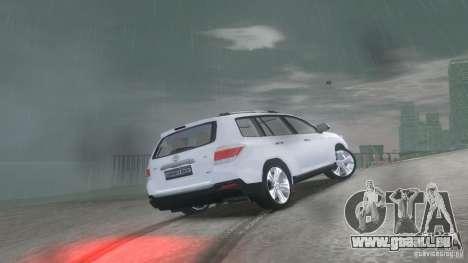 Toyota Highlander 2012 v2.0 pour GTA 4 est un droit
