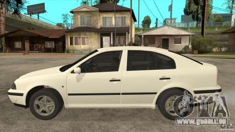 Skoda Octavia 1997 pour GTA San Andreas laissé vue