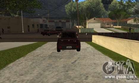 Fiat Novo Uno Sporting für GTA San Andreas zurück linke Ansicht