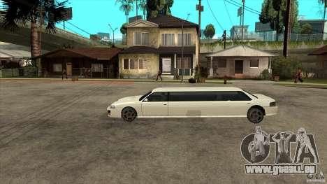 Sultan-limousine für GTA San Andreas linke Ansicht
