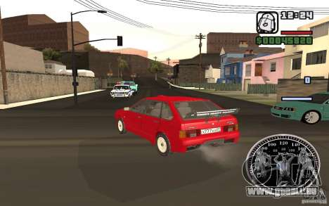 VAZ 21093i pour GTA San Andreas