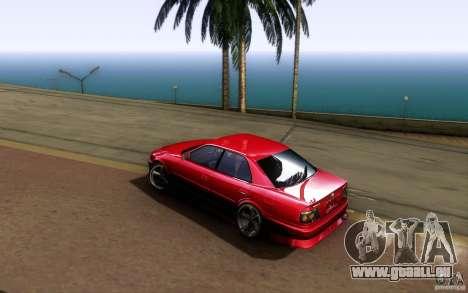 Toyota Chaser JZX100 pour GTA San Andreas vue arrière