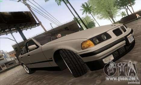 BMW 320i E36 pour GTA San Andreas vue de droite