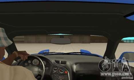 Mazda RX-7 Pickup pour GTA San Andreas vue intérieure