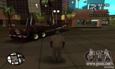 Semi artict2 pour GTA San Andreas laissé vue