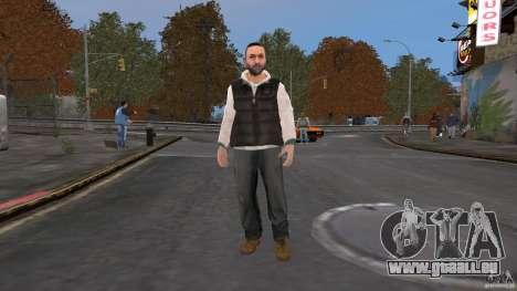 Player Selector pour GTA 4 cinquième écran