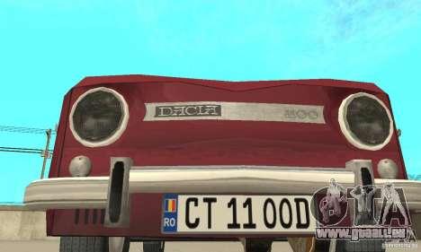 Dacia 1100 für GTA San Andreas Seitenansicht