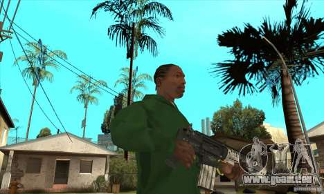 M4 Schulterstütze für GTA San Andreas zweiten Screenshot