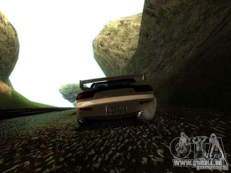 Mazda RX-7 TypeR pour GTA San Andreas vue de droite