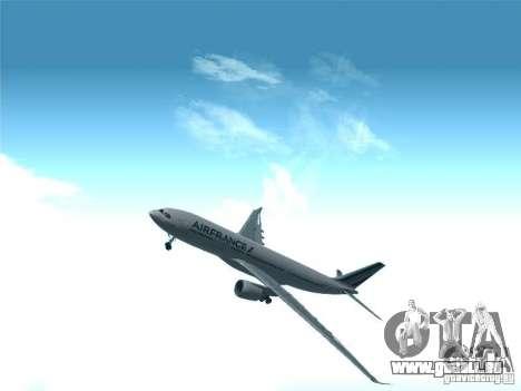 Airbus A330-200 Air France pour GTA San Andreas vue de côté