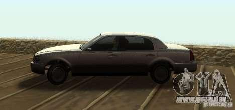 Washington de GTA IV pour GTA San Andreas sur la vue arrière gauche