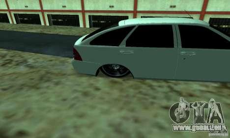 Lada Priora pour GTA San Andreas vue arrière