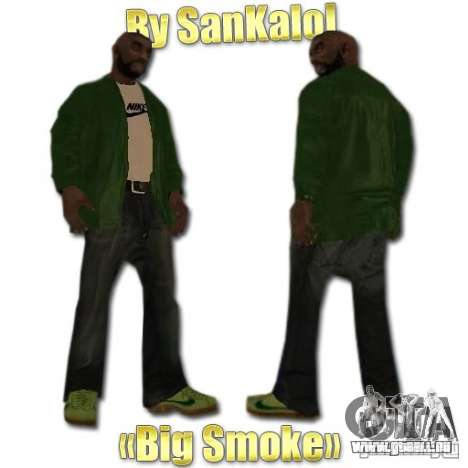 New Sweet, Smoke and Ryder v1.0 für GTA San Andreas dritten Screenshot