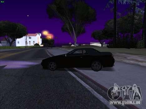 Elegy S13 pour GTA San Andreas sur la vue arrière gauche