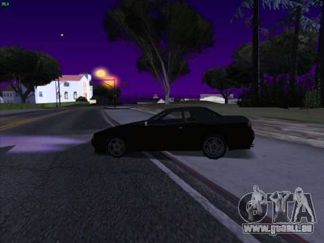 Elegy S13 für GTA San Andreas zurück linke Ansicht