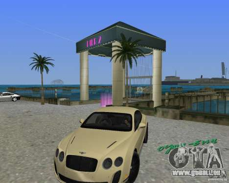 Bentley Continental SS für GTA Vice City