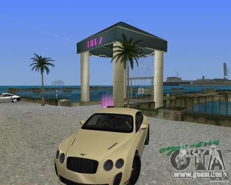 Bentley Continental SS pour GTA Vice City