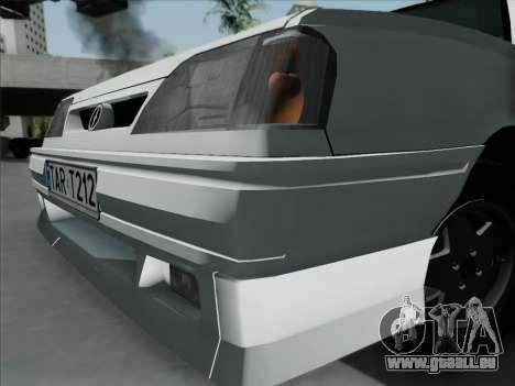 FSO Polonez Caro Orciari 1.4 GLI 16v pour GTA San Andreas sur la vue arrière gauche
