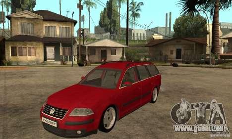 VW Passat B5 Variant für GTA San Andreas