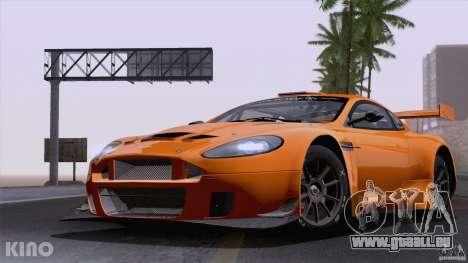 Aston Martin Racing DBRS9 GT3 für GTA San Andreas Innenansicht