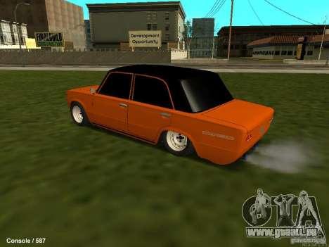 VAZ 2101 Hobo pour GTA San Andreas vue arrière