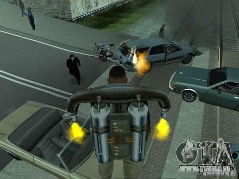 Die realistische Blast-Maschinen für GTA San Andreas fünften Screenshot