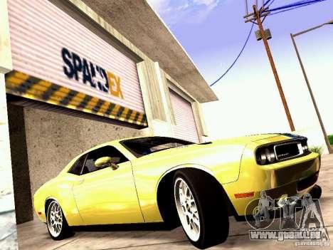 Dodge Challenger SRT8 2009 pour GTA San Andreas laissé vue