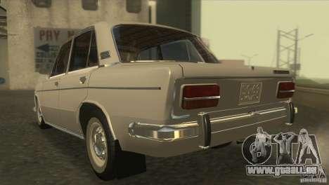 Resto 2103 VAZ pour GTA San Andreas sur la vue arrière gauche
