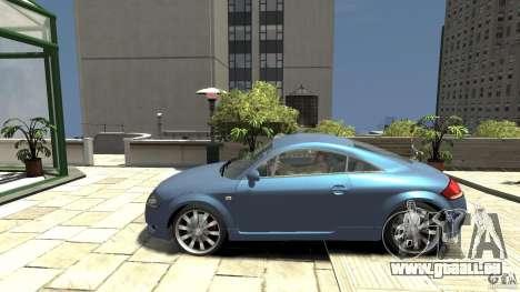 Audi TT 1.8 (8N) pour GTA 4 est une gauche