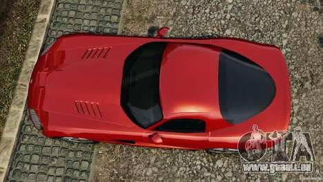 Dodge Viper SRT-10 Coupe für GTA 4 rechte Ansicht