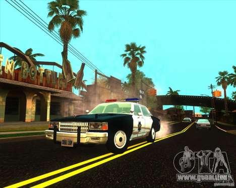 Chevrolet Caprice 1986 SFPD pour GTA San Andreas