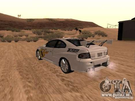 Vauxhall Monaro pour GTA San Andreas
