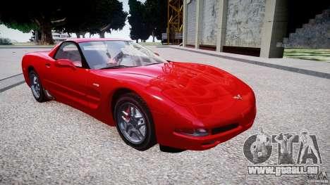Chevrolet Corvette C5 v.1.0 EPM pour GTA 4 Vue arrière