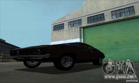 Ford Falcon GT Pursuit Special V8 Interceptor pour GTA San Andreas sur la vue arrière gauche