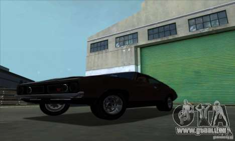 Ford Falcon GT Pursuit Special V8 Interceptor für GTA San Andreas zurück linke Ansicht