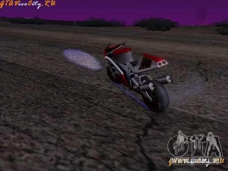 Éclairage au néon-néon dans GTA San Andreas pour GTA San Andreas deuxième écran